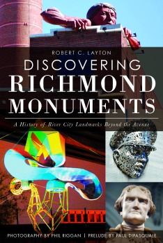Cover of Discovering Richmond Monuments