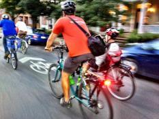 Biking Floyd Avenue
