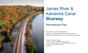 Cover of the Recreational Plan: James River & Kanawha Canal