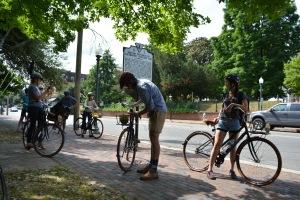 Richmond Rides bike tour in Church Hill.