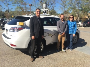 Edward Humes and the Google car
